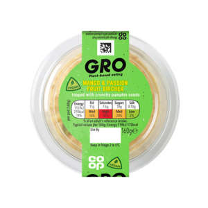 GRO Mango & Passion Fruit Bircher 160g