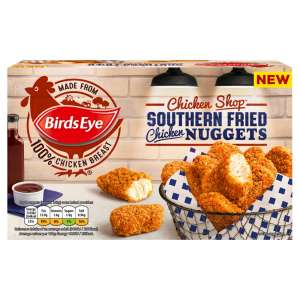 Birds Eye Chicken Shop Southern Fried Nuggets 400g