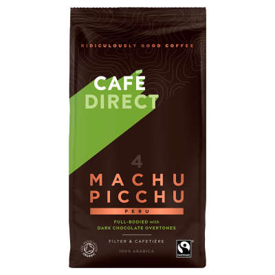 Cafedirect Machu Picchu Organic Ground Coffee 227g