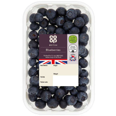 Co-op Blueberries Punnet