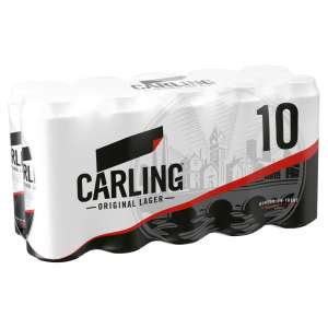 Carling Original Lager 10x440ml