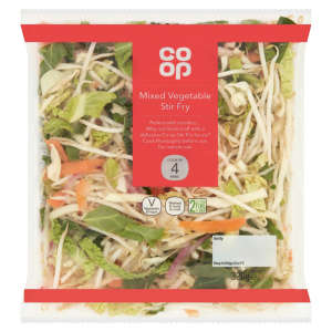 Co-op Mixed Vegetable Bag 320g