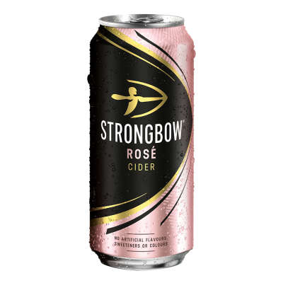 Strongbow Rosé Cider Cans 4x440ml
