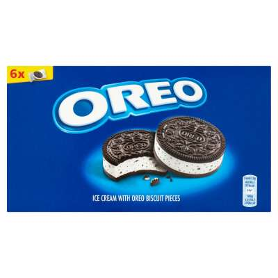 Oreo Ice Cream Sandwich 6pk 330ml
