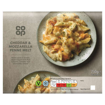 Co-op Cheese Penne Melt 750g