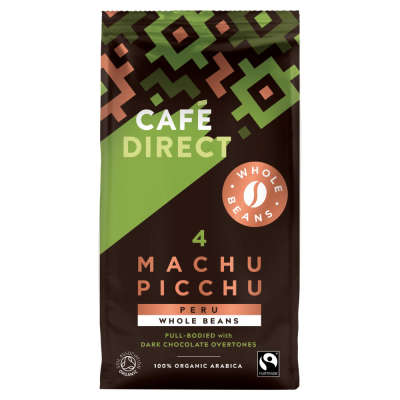Cafe Direct Fairtrade Machu Picchu Coffee Beans 227g