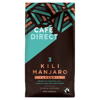 Cafe Direct Kilimanjaro Roast and Ground Coffee 227g