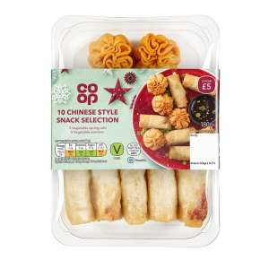 Co-op Vegan Oriental Selection 180g
