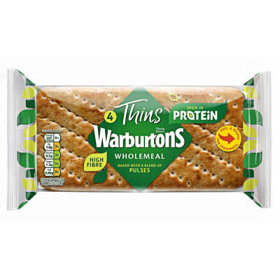 Warburtons Wholemeal Protein Thins