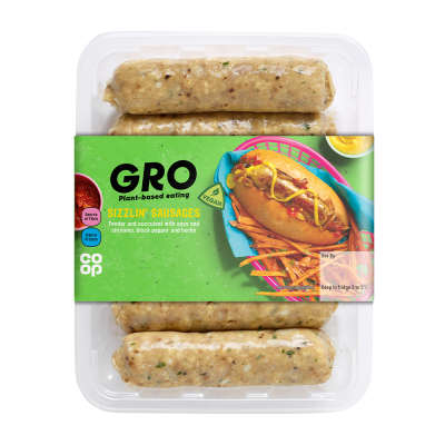 GRO Sizzlin' Sausages 350g
