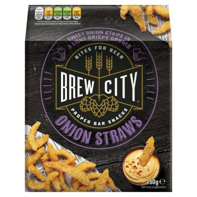 Brew City Onion Straws 150g