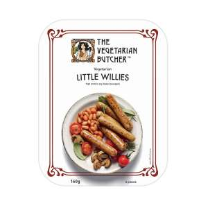 The Vegetarian Butcher Little Willies Sausages 160g