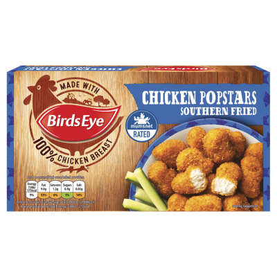 Birds Eye Chicken Popstars 150g
