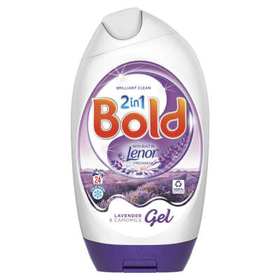 Bold 2 in 1 Lavender and Camomile Gel 24 Washes 888ml