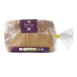 Co-op Free From White Sliced Loaf of Bread 500g