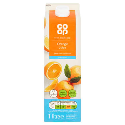Co-op Smooth Orange Juice