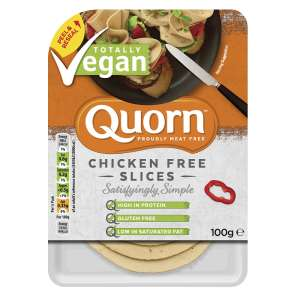 Quorn Chicken Free Slices 100g