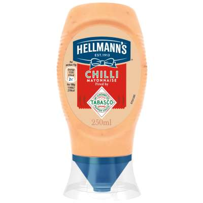 Hellmanns Chilli Mayonnaise 250ml