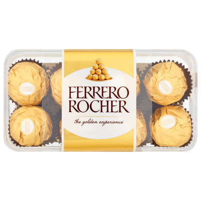 Ferrero Rocher Chocolate Pralines Gift Box of Chocolate 16 Pieces 200g