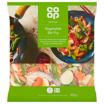 Co-op Stir Fry Mix 500g