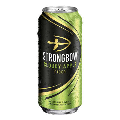 Strongbow Cloudy Apple Cider Cans 4x440ml