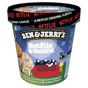 Ben & Jerry's Netflix & Chill'd 465ml