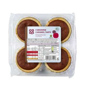 Brownie Caramel Tarts 4 Pack