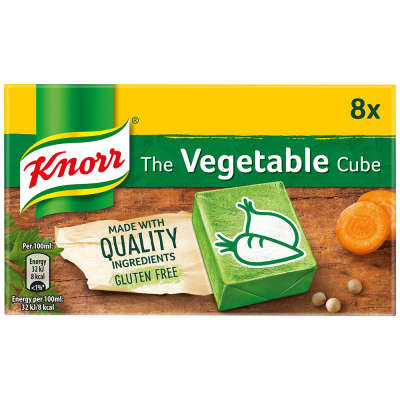 Knorr 8 Vegetable Stock Cubes 80g