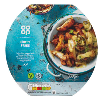 Co-op Dirty Fries 330g