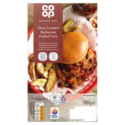 Co-op Barbecue Pulled Pork 380g
