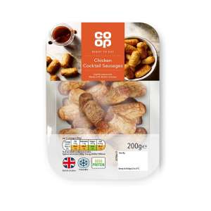 Co-op Chicken Cocktail Sausages 200g