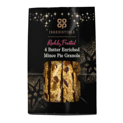Co-op Irresistible Mince Pie Granola