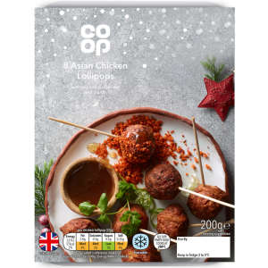 Co-op Asian Chicken Lollipops 200g