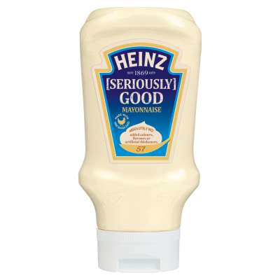 Heinz Seriously Good Mayonnaise Top Down 400ml