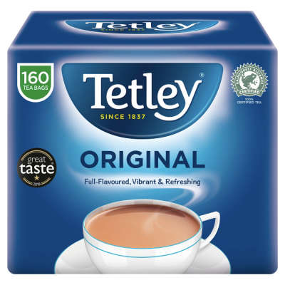 Tetley 160 Original Tea Bags 500g
