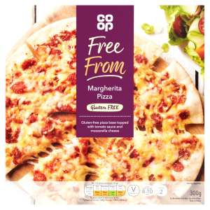 Co-op Free From Margherita Pizza 300g