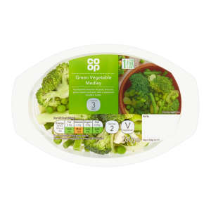 Co-op Green Vegetable Medley 260g