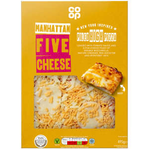 Co-op NY Style Manhattan Cheese Pizza 495g