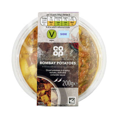 Co-op Indian Bombay Potatoes 200g