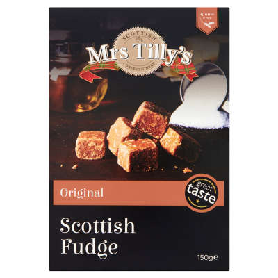 Mrs Tilly's Fudge Carton 150g