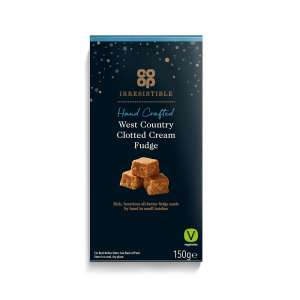 Co-op Irresistible Clotted Cream Fudge 150g