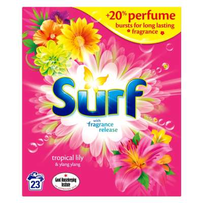 Surf Powder Tropical 23 Washes 1.495kg