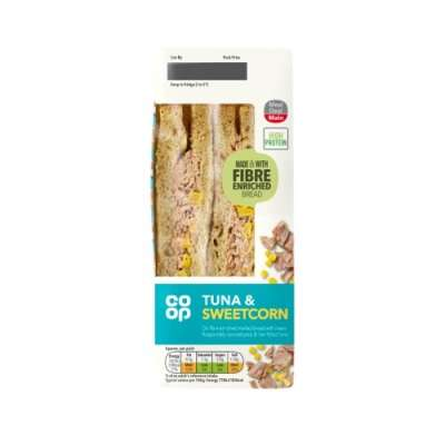 Co-op Tuna & Sweetcorn Sandwich