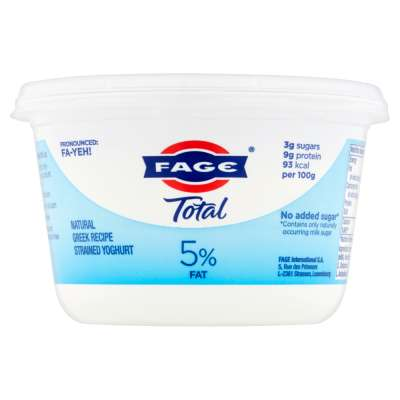Total 5% Fat Greek Yoghurt 500g