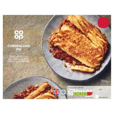 Co-op Classic Menu Cumberland Pie 700g