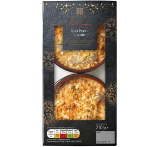 Co-op Irresistible King Prawn Gratins 210g