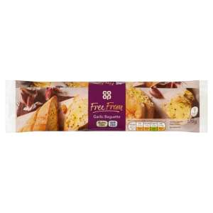 Co-op Free From Garlic Baguette 170g - Gluten Free and Milk Free