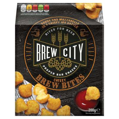 Brew City Cheesy Brew Bites 200g