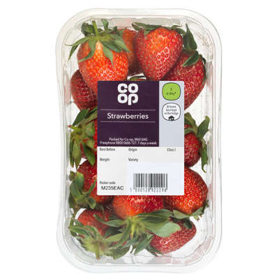 Co-op Strawberries 300g