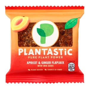 Plantastic Apricot & Ginger Flapjack with Chia Seeds 73g